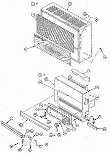 Perfection  Schwank Inc Direct Vent Wall Furnace Parts