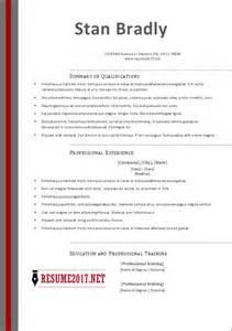 free resume templates microsoft word 2017 free resume templates 2017