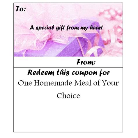 07043 Make Your Own Coupons Free by Make Your Own Customizable Coupon Book Free Printables