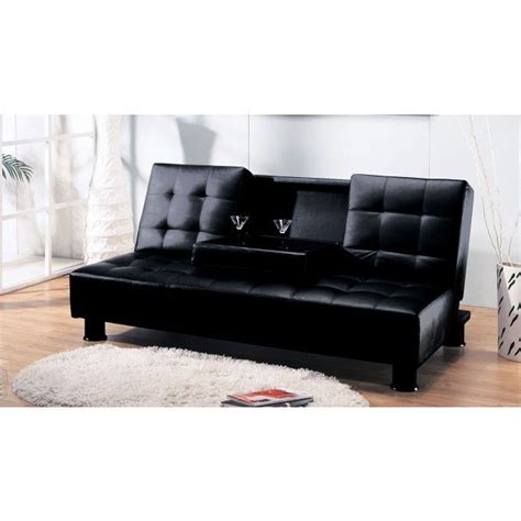 Sofa Bed Cup Holder by Monticello Sofa Bed W Cup Holder By Acme Furniture