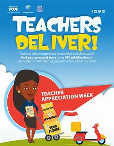 Event Toolkit—Teacher Appreciation Week - Programs ...