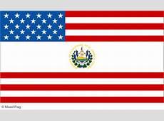 Mixed USA and El Salvador Flag Tshirt Designs