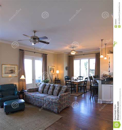open space living room and dining room open living room and dining room stock photo image 2066564
