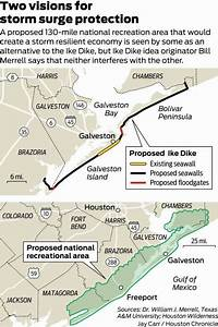 Galveston Levees Would Cost Less  Work Better Than Proposed  U0026 39 Ike Dike  U0026 39  Report Finds