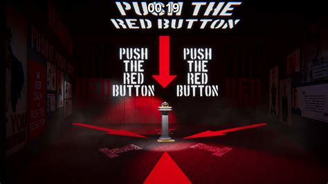 dont push  red button absurdist game release