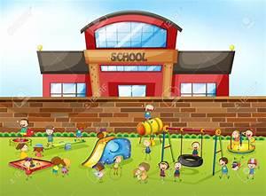 Cartoon Elementary School Building | www.pixshark.com ...