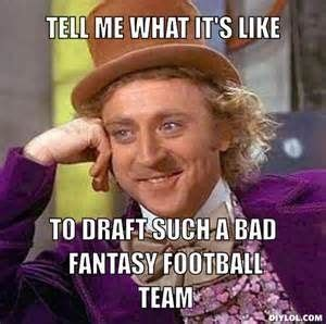 Fantasy Football Draft Meme - 16 best football widow images on pinterest football season football humor and soccer humor