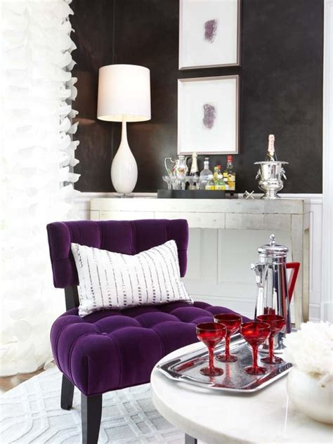 Glam Purple   Interiors By Color