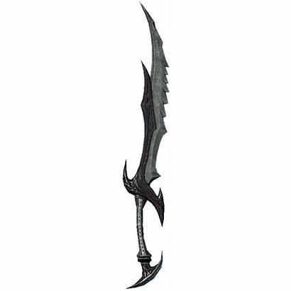 Sword Daedric Lightning Vampire Bound Skyrim Weapon