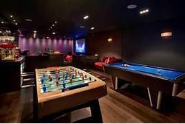 Gaming Room Ideas Modern Apartment Property Home Harrison Varma London Uk Games Room Bar