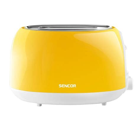 Yellow Toaster by Sencor 2 Slice Solid Yellow Toaster Sts2706yl Naa1 The