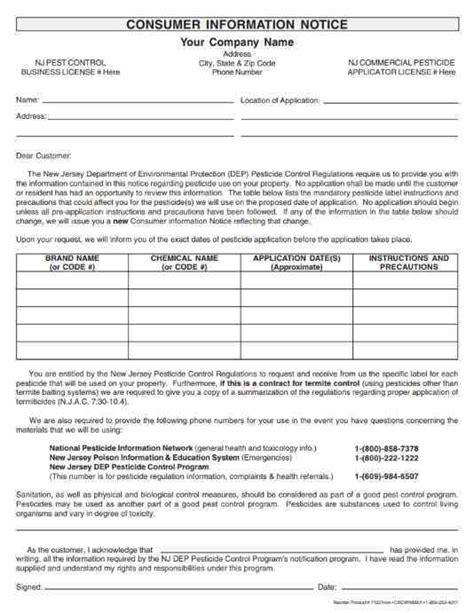 jersey consumer information notice  pt