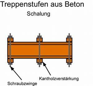 Kosten Beton Selber Mischen : treppenstufen aus beton selber machen ~ Lizthompson.info Haus und Dekorationen