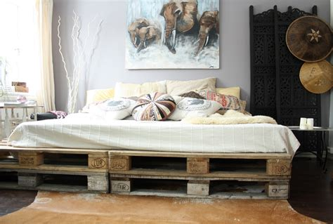 Cheap Bed Furniture by 20 Brilliant Wooden Pallet Bed Frame Ideas For Your House
