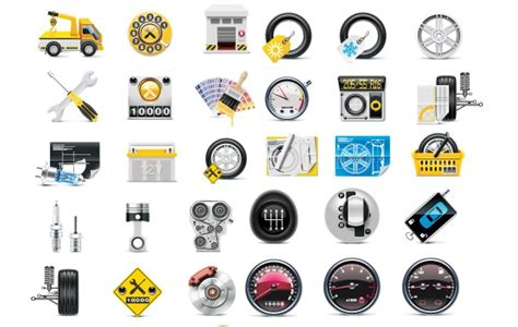 Free Meter Tire Tool Icon Vector