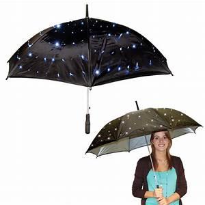 Regenschirm Mit Licht : ausgefallener regenschirm mit led farbig schirm ~ Kayakingforconservation.com Haus und Dekorationen