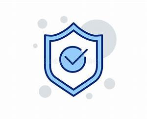 Approved Shield  Startup Rocket And View Document Icons