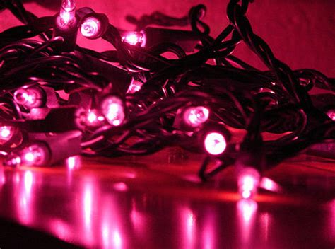 pink christmas lights for great decorating ideas light