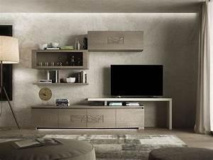 parete soggiorno moderna composizione 2 l 300 modigliani 30 bruno piombini With parete soggiorno minimal