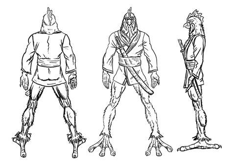 Blueprints Cartoon Characters