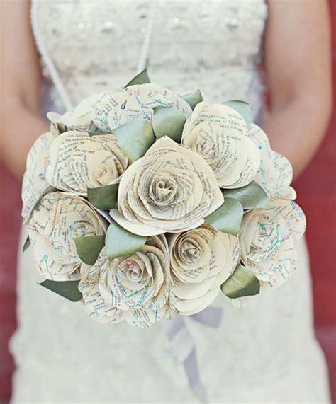 diy paper wedding bouquet vintage sheet vintage sheets and vintage maps