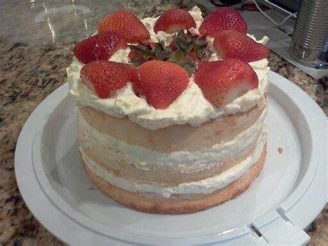 strawberry angel food cake vanilla pudding mix