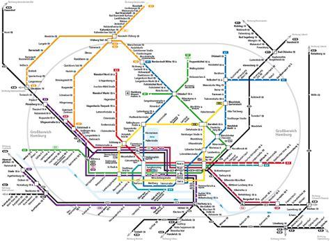 hamburg  bahn  bahn map