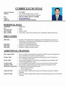 few tips on writing a perfect curriculum vitae With cv and resume writing
