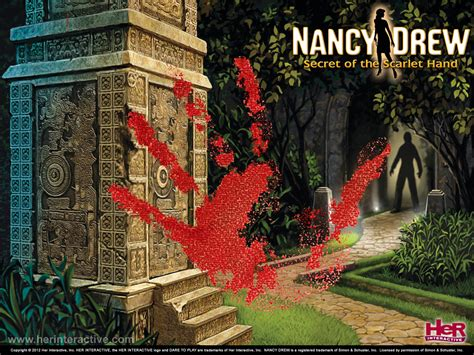 buy nancy drew secret   scarlet hand  interactive