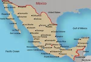 Map of Mexico Mexico