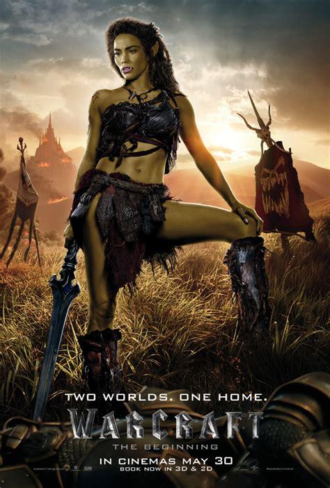 Warcraft_Garona_UK_1_Sheet - Film and TV Now
