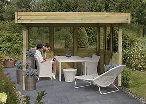 Pavillon Holz Flachdach : karibu holzpavillon 4 eck flachdach pavillon 1 kdi ~ Orissabook.com Haus und Dekorationen