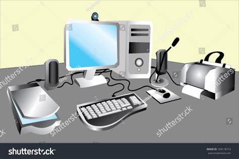 Computer Image Vector Computer Set 104118713