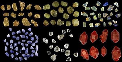 list of minerals