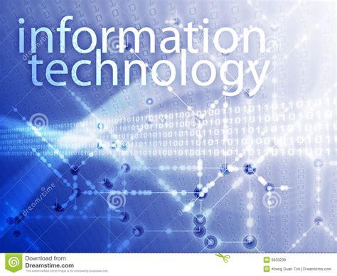 Information Technology Illustration Royalty Free Stock