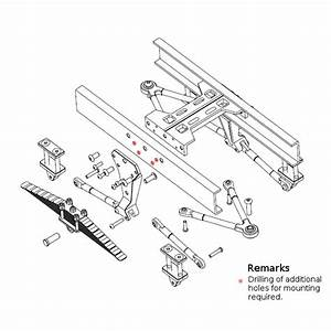 Leaf Spring Suspension For Rear Axles  X 14 Tractor Truck