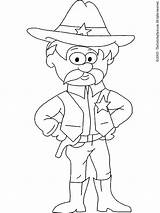 Sheriff Coloring Badge Pages Rpso Characters Printable Colouring Preschool Brain Getcolorings Fictional Sheriff2 Lightupyourbrain Printables sketch template