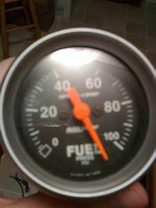 Autometer Sport Comp Electric Fuel Pressure Gauge   More