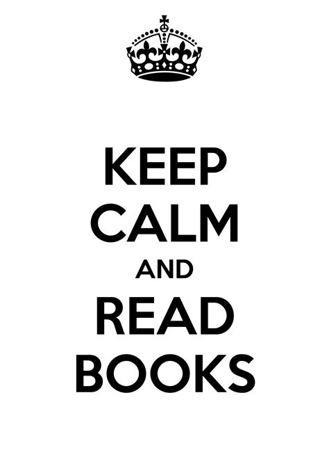 KEEP CALM AND READ BOOKS Poster | ZK | Keep Calm-o-Matic