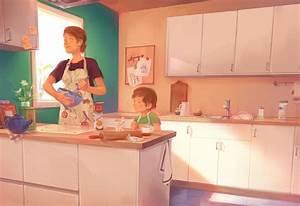 Kitchen by StudioQube on DeviantArt