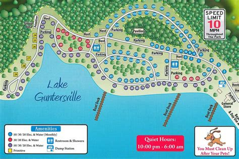 Campground Site Map  Honeycomb Campground  Camping Trips