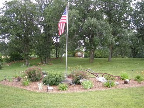yard flag pole best 25 flag pole landscaping ideas on flag 1204