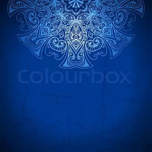 blue background vintage pattern hand drawn abstract With royal blue wedding invitations background