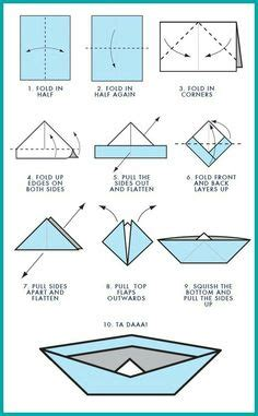 How To Make A Paper Boat Mini by Maritime Makers How To Fold A Paper Boat Printable