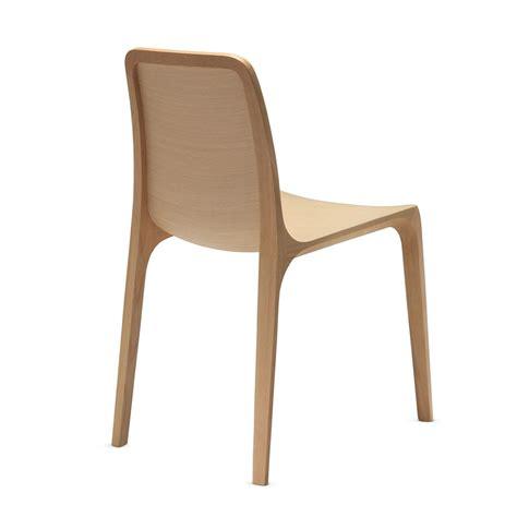 chaise chene frida 752 chaise design pedrali en bois de chêne sediarreda