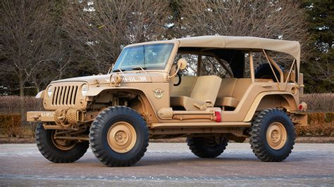 jeep wrangler military style jeep may be heading back to the battlefield takes on tech
