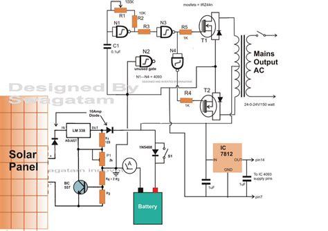 inverter circuit pdf circuit diagram images