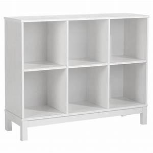 Meuble Casier Blanc : etag re 3 x 2 casiers pin massif blanc achat vente meuble tag re etag re 3 x 2 casiers pin ~ Teatrodelosmanantiales.com Idées de Décoration