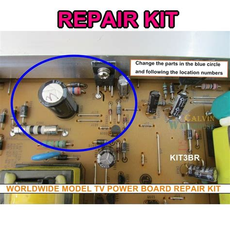 lg power eay60912401 eax61415301 repair kit 3br1565jf 42pj250 42pj350 42pj550 ebay