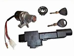 Ignition Switch And Seat Lock Yamaha Jog 50  Jog 50r  Jog